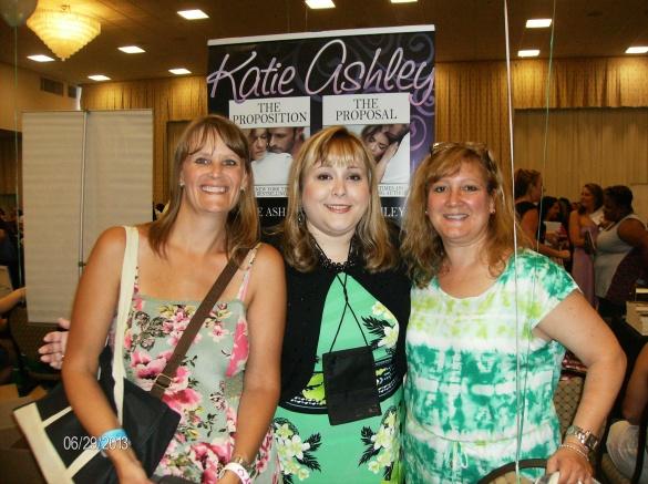 My bestie Lori, Katie, and Me!!!  What a great time at Book Bash!!!