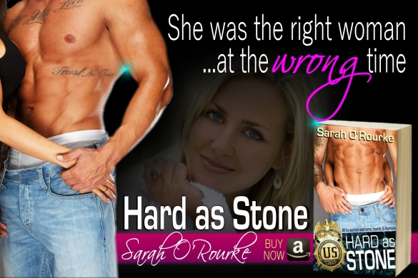 Sarah O'Rourke Hard as Stone Teaser Wrong Time